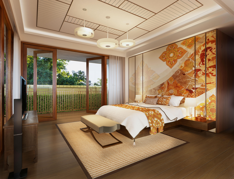ห้องนอนสไตล์ไทยประยุกต์ 0001