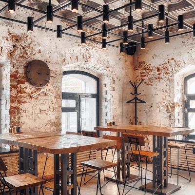 ออกแบบร้านอาหาร ร้านกาแฟ